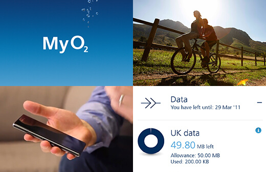 My O2 Apps screenshot images